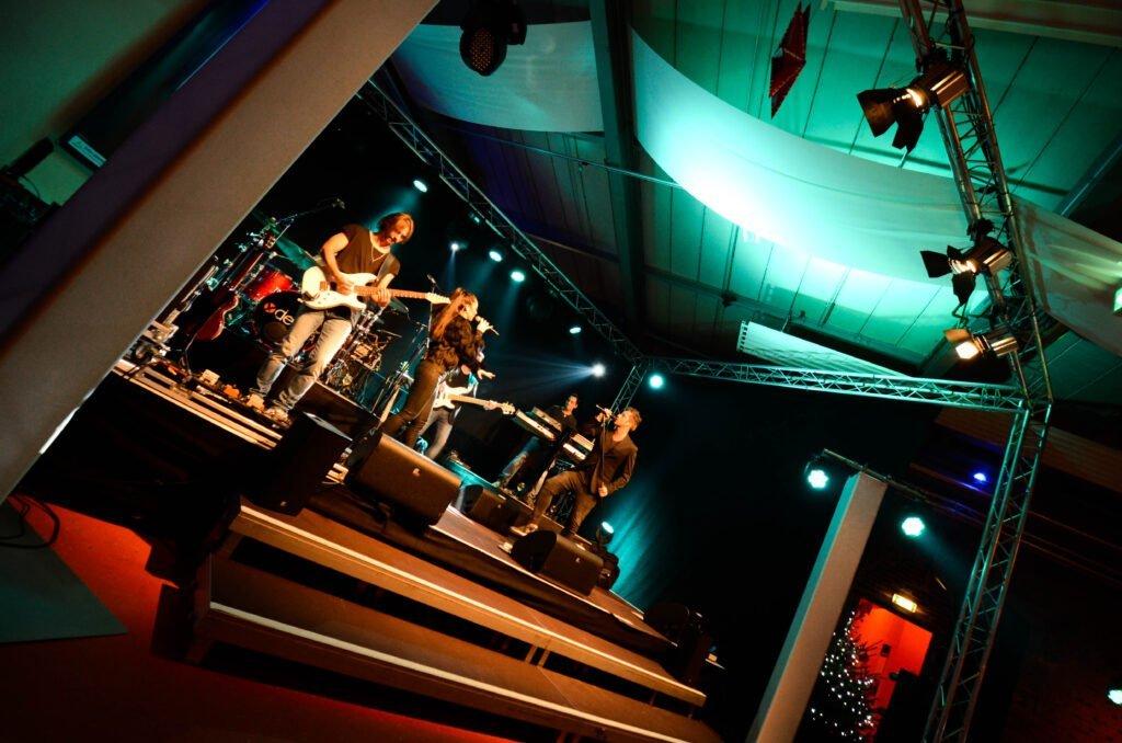 Band im Festsaal